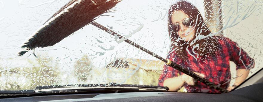 tvätta bilen på vintern