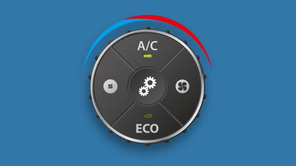 Bibehåll en god luftkvalitet i bilen. Boka en AC-service