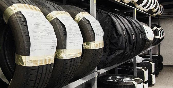 På däckhotell ska dina däck förvaras torrt, mörkt och svalt