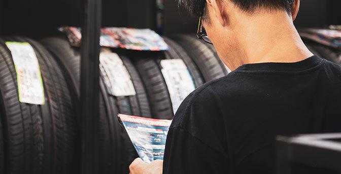Köpa nya däck - vad behöver du tänka på?