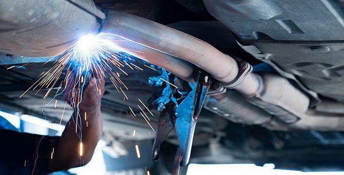 Bilens avgassystem - luftrening, katalysator och lambda